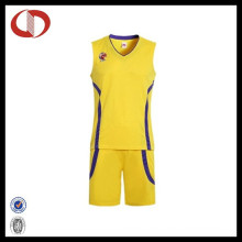 Großhandel Professionelle Nationalmannschaft Basketball Jersey Uniform für Frauen