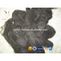 Wholesale Pure Merino Sheep Wool Dehaired Brown/Black Cashmere Fiber