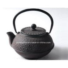 Fertigen Sie Gusseisen-Teekanne 0.6L besonders an