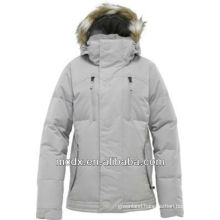 hooded waterproof breathable down jacket women
