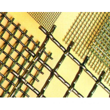 High Quality Crimped Square Iron Wire Mesh (LY015)