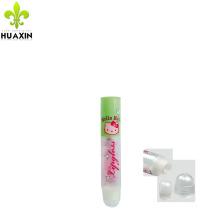 recipiente de bálsamo de lábios eos, tubo cosmético 5 ml tubos de plástico cosmético