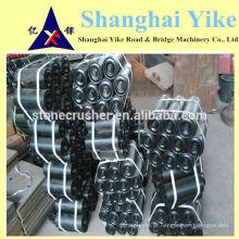 Rolo transportador preto feito na China com melhor qualidade