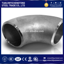 hot sale 6 inch diameter 60 degree carbon steel pipe elbow