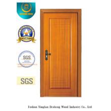 Goldene Farbe einfache Art MDF Tür für Zimmer (Xcl-828)