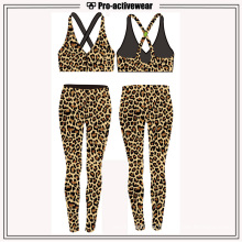 Hot Sell Fitness Wear Hot Sexy Women Leopard Pants