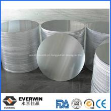 Preço do círculo de alumínio para panelas e frigideiras