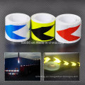 """2"""" X10′ 3m reflectante seguridad nocturna ADVERTENCIA cinta de evidencia de la manera"""