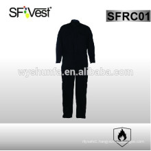 2015 SFVEST safety fire proof life coveralls with 100% cotton , NFPA 2112