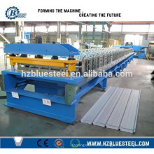 Metal Roof Tile Roll Forming Machine, Corrugated Roof Sheet Making Machine From Hangzhou China