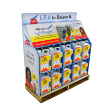 Sturdy Cardboard Pallet Racks for Cleanser, Corrugated Pallet Stand