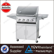 Restaurante Professional Gas Smokeless Vertical churrasqueira ao ar livre