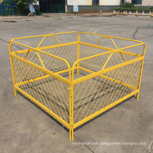 Security Manhole Steel Mesh Guard Barriers