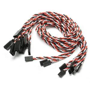 22AWG Futaba JR Servo Extension Cable