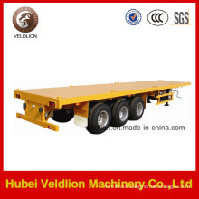 40foot 3-Axle Container Flat Bed Semi Trailer