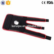 Cinturón de soporte de rodilla de neopreno con estabilizador de rótula abierto básico