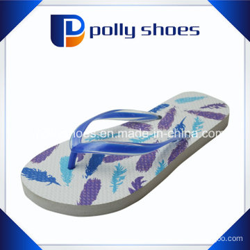 2016 China New Design EVA Printed Woman Slippers
