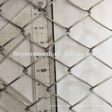galvanized diamond mesh fence rhomb type mesh export chain link fence wire