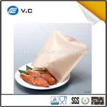 Fabriqué en Chine 4 x Grille-pain réutilisable Toastie Sandwich Toast Sacs Poches Toasty Toastabags NOUVEAU