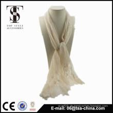 Mode-Ebene Lace Schals Wraps Schal für Frau