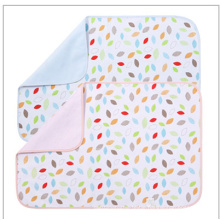Colorful Bamboo Fiber Baby Wrap Swaddle Diaper Pad