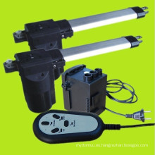 Uso de mobiliario eléctrico actuador lineal DC