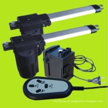 Atuador linear DC elétrico móveis uso