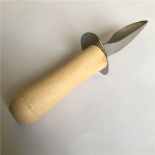 Seafood Tools Clam Oyster Shucker Opener Wooden Handle