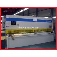 Machine de cisaillement hydraulique CNC, machine à découper des plaques métalliques, cisailles à guillotine en aluminium
