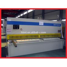 CNC Hydraulic shearing machine, metal plate cutting machine, aluminium guillotine shearing machine