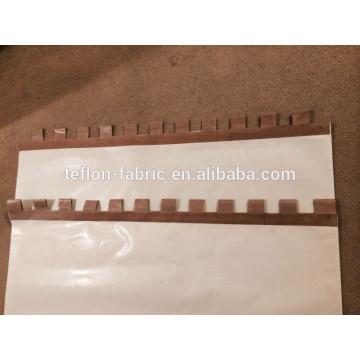 Лента для пиццы, лента транспортера из стеклопластика с тефлоновым покрытием Ptfe с кевларовой рамкой