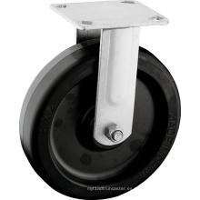 """Ruedas de ruedas de goma de 8 """"de servicio pesado"""