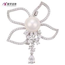 00011 compras en línea de grado superior nuevo producto de la llegada elegante seguridad perla broche de corea joyas de estilo al por mayor de China