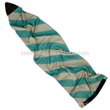 2017silver цвета с cali медведь дизайн вечерять мешок/носок и чехол для доски для серфинга