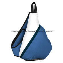 Fashion 600d Polyester Triangle Sling Backpack