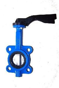Wafer tuas Butterfly Valve