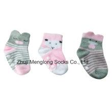 Fashion Cute Infant Girls 3D Socks Cotton Material