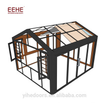 China Manufacturer Insulated Glass Free Standing Sun Rooms