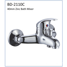 Bd2110c 40mm Single Lever Zinc Bath Mixer
