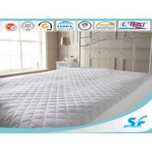 Funda de colchón acolchado para colchón de ganso blanco