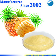 GMP and ISO certificated 100% natural Ananas Comosus Extract , Ananas Extract powder