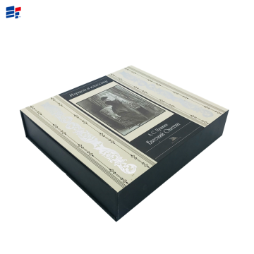 Luxury wine cardboard paper box