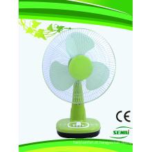 16 polegadas 110V ventilador de mesa ventilador de mesa colorido (SB-T-DC40O)