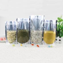Алюминиевой фольги пластичные ziplock еды упаковка мешок