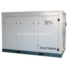 Compresor de aire del tornillo de frecuencia variable 160kw / 220HP