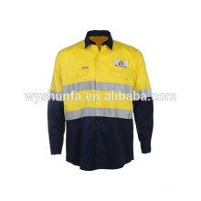 High Visibility Polyester / Cotton Jacket Reflective Workwear