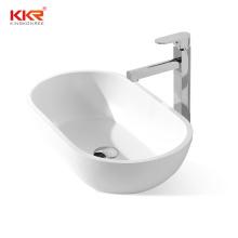 Kkr Matte Grey Wash Hand Basins Wall-hung  Simple  Hanging Basin Integrated Basin Bathroom Sink Bowls