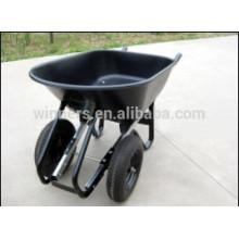 carrinho de mão de jardim de aço