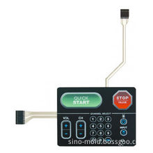 Customized Membrane Switch with Polydome or Metal Domes, Used for Tire Pressure Monitoring System