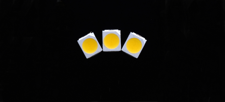 3528 white LED - Warm white